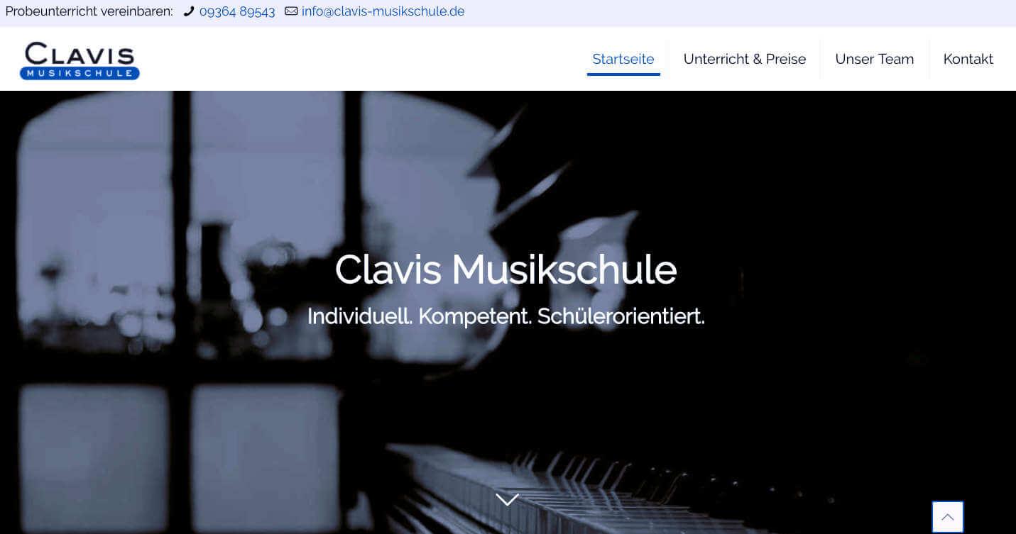 Clavis Musikschule, Musikschule, Retzbach, Zellingen